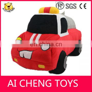 custom 2015 newest plush car toys/plush car shaped pillow for gifts EN71 /CE