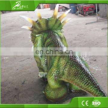 KAWAH Funny Fairground Handmade Dinosaur Battery Kids Car