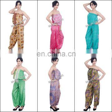 2d90094185f Trendy jumpsuits for women- Indian boho Jumpsuit- vintage silk dance  Jumpsuit pants - Fashion Wear Jumpsuits of IndoWestrn Jumpsuit from China  Suppliers - ...