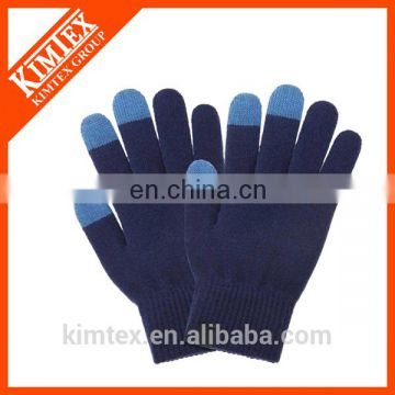 Wholesale custom winter acrylic touch gloves