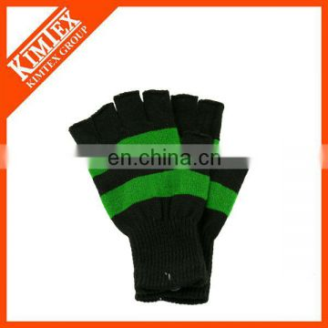 Wholesale winter knitted mittens with logo