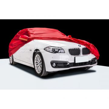 Red190T polyester car covers