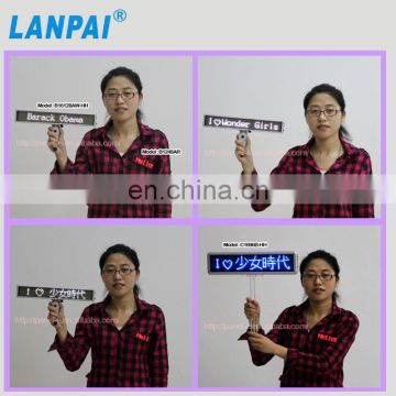 Directly manufacture mini led sign for airport use ,LED programmal advertising display board