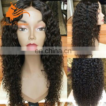silk base full lace wig with baby hairdeep curly human hair silk base wig