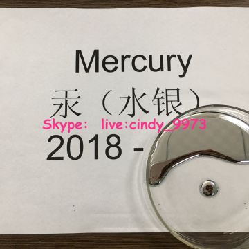 99.999%Mercury CAS7439-97-6 Quicksilver Hydrargyrum Chinese supplier  Skype:  live:cindy_9973
