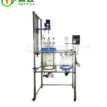 Hot Sale China Chemical For Production 30l Glass Reactor