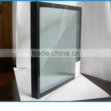 hollow insulated building facade glass greenhouse tempered insulating glass panels double glazing glass for door inserts