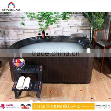 New design CE approved 2 person outdoor spa bathtub with sex massage US Acrylic Microsilk Balboa spa