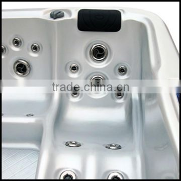 2015 Balboa Lucite China supplier High Quality Whirlpool Acrylic Bathtubs for Adults