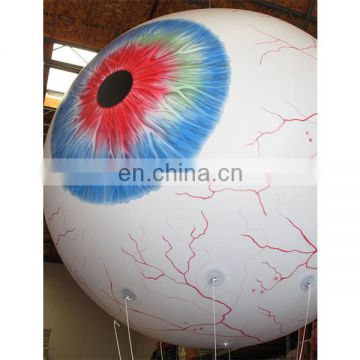 Giant advertising inflatable giant eyeball,air blown inflatable eyes balloon for street decoration