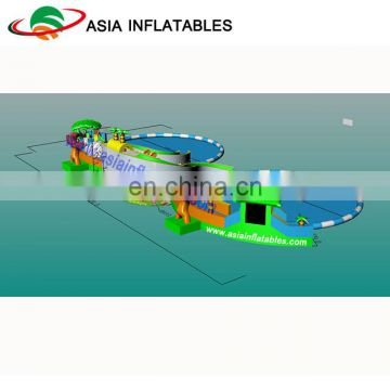 New Inflatable Water Park Design With Giant Water Pool