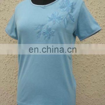 ladies t-shirt single jersey LATEST