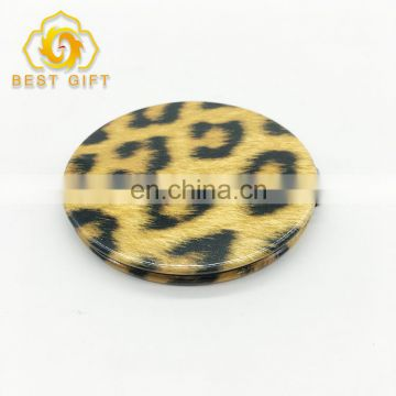 Good Quality Customized Printing Small Round Craft Compact Mirrors
