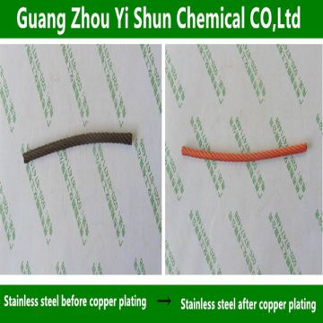 Bright copper plating Metal plating solution Steel electroless copper plating