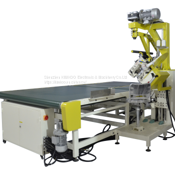Automatic mattress tape edge sewing machine