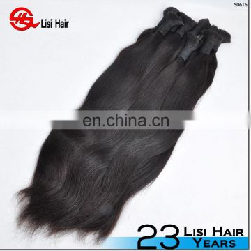 Natural color human hair weave top quality body wave indian virgin remy hair bulk