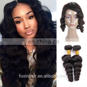 360 Lace Frontal wig Peruvian Hair different types of curly weave hair