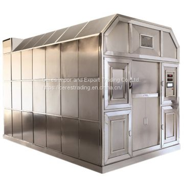 stainless steel material human cremation  machine funeral supply cremator crematorium