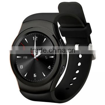 GSM smart phone watch with silicon brand touch display watch 2016
