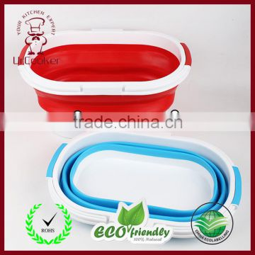 Collapsible Basket Silicone Collapsible Bucket