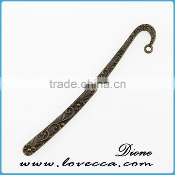 Classical antique bronze wholesale custom cast metal charms for garment decoration