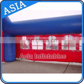Portable Inflatable Mobile Tent , Inflatable Paintball Field Arena Price