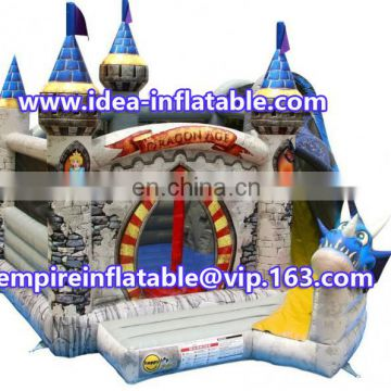 2016 new design inflatable combo bouncy castle ID-CB095