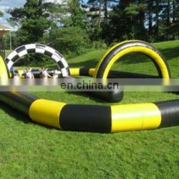 IRT-55 Inflatable car race course