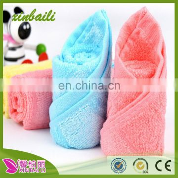 Hot Sale bamboo fiber zero twist hand towel for babies