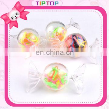 fashion new wholesale candy hair rubber band