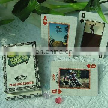 custom printed paper playing cards with your logo(ZY13-3003)