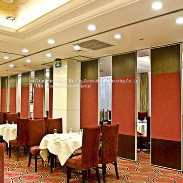 Sliding Aluminium Track Operable Partition Wall
