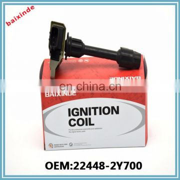 BAIXINDE China Supplier ignition system Ignition Coil For Nissans OEM 22448-2Y700
