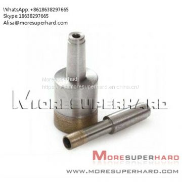 Glass Diamond Drill Bits for oil and geology Alisa@moresuperhard.com