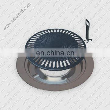 Round BBQ Grill Plate For Gas Stove CE Approval