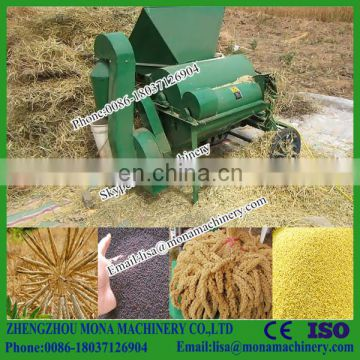 Soybean thresher/ small bean threshing machine/ soybean rice wheat sheller for sale