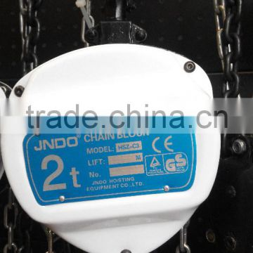 China Manufacturer 1t 2t 3t 5t manuacl chain block