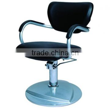Round Base Modern Hydraulic barber chair hair cutting chairs with pedal wholesale barber supplies F-A065001