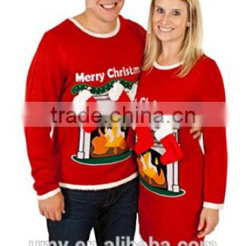 Matching Ugly Christmas Sweaters For Dog And Owner Of Pet Group From