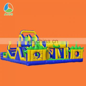 Giant outdoor inflatable water playground