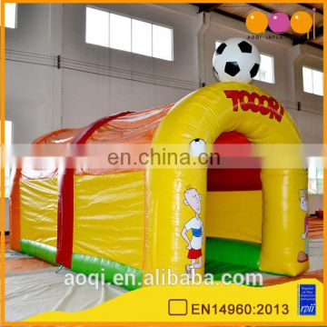 AOQI best selling inflatable football game from China professional manufacturer