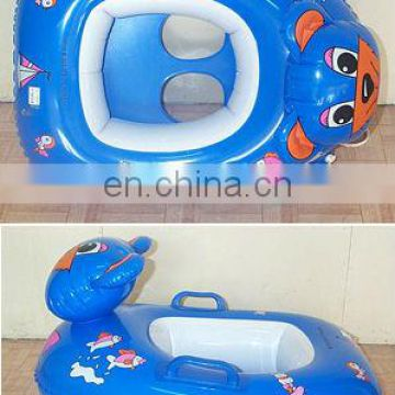child inflatable swim pool floating boat tube ship