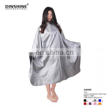 Profesional beauty hair cutting cape/salon coloring cape