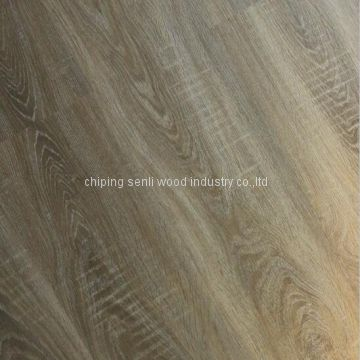Black color little embossed german technology laminate flooring