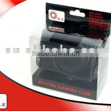 O.N.E Quality PU leather camera case for CANON POWERSHOT S90