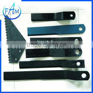 farm cultivator/tractor machine accessories Grass Mowing Knife, mowing grass cutter blade
