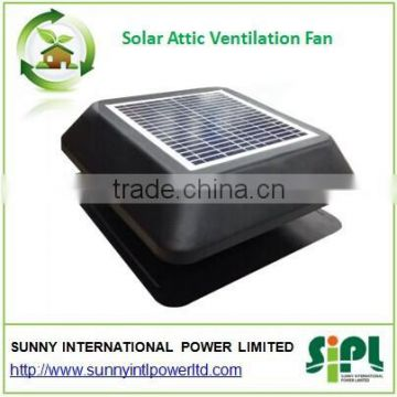 Solar vent air conditioner exhaust fan industrial Green energy solar roof fan air cooler fan
