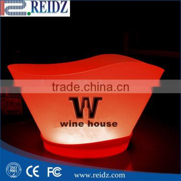 REIDZ factory hot supply Plastic Ice Wine bottle bucket with good quality
