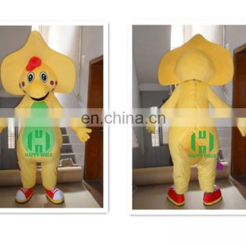 HI CE movie character barney customized mascot costume for adult size,animal mascot costume for adult