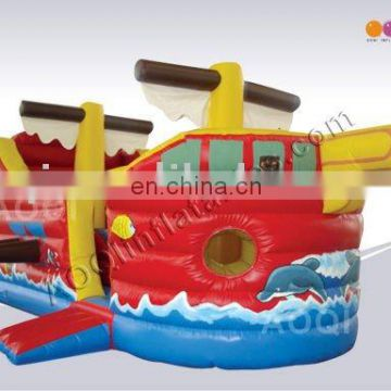 AOQI inflatable bouncer pirate with free EN14960 certificate
